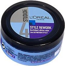Parfumuri și produse cosmetice Ceară pentru styling - L'Oreal Paris Studio Line Style Rework Architect Shine Wax