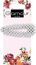 Parfumuri și produse cosmetice Agrafă de păr, 417612, alb-negru - Glamour