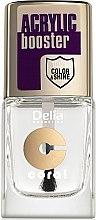 Parfumuri și produse cosmetice Fixator pentru unghii, cu efect de gel-lac - Delia Acrylic Booster Top Coat