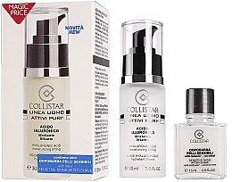 Parfumuri și produse cosmetice Set - Collistar Linea Uomo Acido Ialuronico (ser/30ml + ash/balm/15ml)