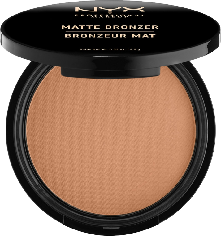 Pudră bronzer matifiantă - NYX Matte Bronzer
