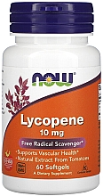 "Parfumuri și produse cosmetice Supliment alimentar ""Licopen"", 10 mg - Now Foods Lycopene Softgels"