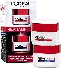 Parfumuri și produse cosmetice Set - L'Oreal Paris Revitalift (f/cr/50ml + f/cr/50ml)