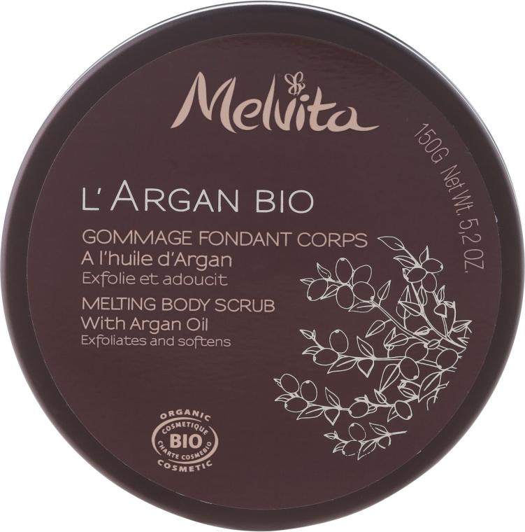 Scrub pentru corp - Melvita L'Argan Bio Body Scrub — Imagine N1