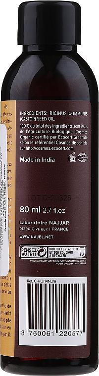 Касторовое масло, укрепляющее - Najel Castor Oil — фото N2