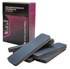 Parfumuri și produse cosmetice Rezerve abrazive pentru pilă de unghii, 100 grit, DFE-51-100 - Staleks Pro (10 bucăți)