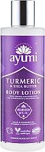 """Parfumuri și produse cosmetice Loțiune de corp """"Curcuma și Unt de Shea"""" - Ayumi Turmeric & Shea Butter Body Lotion"""