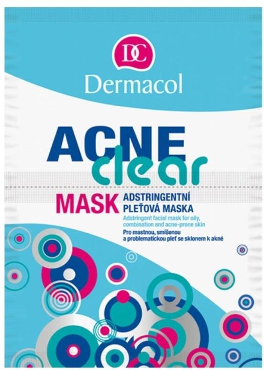Mască pentru față pentru ten acneic - Dermacol Acne Clear Mask — Imagine N1