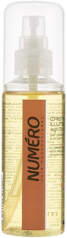 Cristale lichide cu uleiuri prețioase pentru păr - Brelil Professional Numero Illuminating Crystals With Precious Oils
