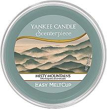 Parfumuri și produse cosmetice Ceară aromatică - Yankee Candle Misty Mountains Scenterpiece Melt Cup