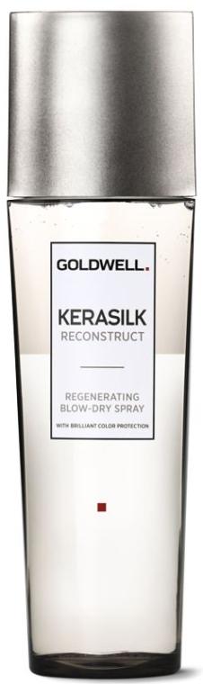 Spray pentru păr deteriorat - Goldwell Kerasilk Reconstruct Regenerating Blow-Dry Spray — Imagine N1