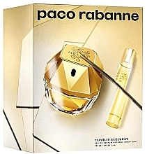 Parfumuri și produse cosmetice Paco Rabanne Lady Million Traveler Exclusive - Set (edp/80ml + edp/10ml)