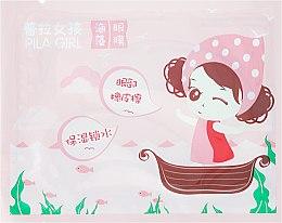 Parfumuri și produse cosmetice Patch-uri pentru zona din jurul ochilor - Pilaten Pila Girl Seaweed Eye Mask