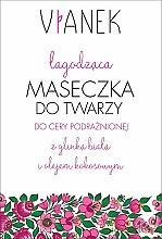 Parfumuri și produse cosmetice Mască calmantă pentru față - Vianek