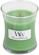 Parfumuri și produse cosmetice Lumânare parfumată în suport de sticlă - WoodWick Hourglass Candle Palm Leaf