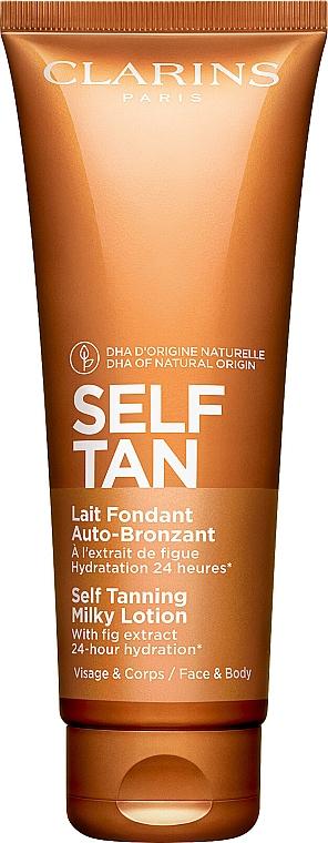 Loțiune hidratantă autobronzantă - Clarins Self Tanning Milky Lotion