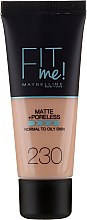 Parfumuri și produse cosmetice Fond de ten - Maybelline Fit Me Matte Poreless Foundation