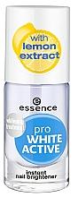 Parfumuri și produse cosmetice Отбеливающий лак для ногтей - Essence Pro White Active