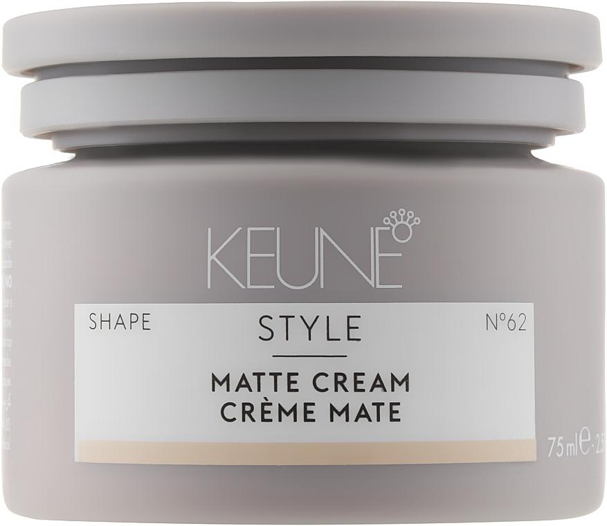 Крем матирующий для волос №62 - Keune Style Matte Cream — фото N1