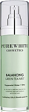 Parfumuri și produse cosmetice Spray pentru față - Pure White Cosmetics Balancing Green Tea Mist