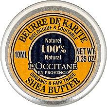 Parfumuri și produse cosmetice Cremă de corp - L'occitane Organic Pure Shea Butter (Mini)