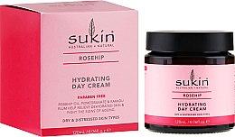 Parfumuri și produse cosmetice Cremă hidratantă de zi pentru față - Sukin Rose Hip Hydrating Day Cream