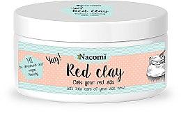 Parfumuri și produse cosmetice Masca cu argilă de față - Nacomi Red Clay