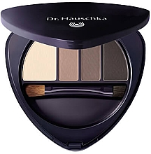 Parfumuri și produse cosmetice Paletă farduri pentru pleoape și sprâncene - Dr Hauschka Eye & Brow Palette