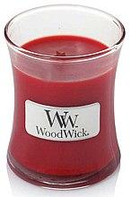 Parfumuri și produse cosmetice Lumânare aromată - WoodWick Hourglass Candle Pomegranate