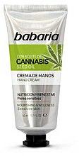 Parfumuri și produse cosmetice Cremă de mâini - Babaria Cannabis Hand Cream