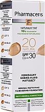 Parfumuri și produse cosmetice Fluid mineral matifiant SPF 30 - Pharmaceris F Mineral Mattifying Fluid Dermo-Foundation SPF 30