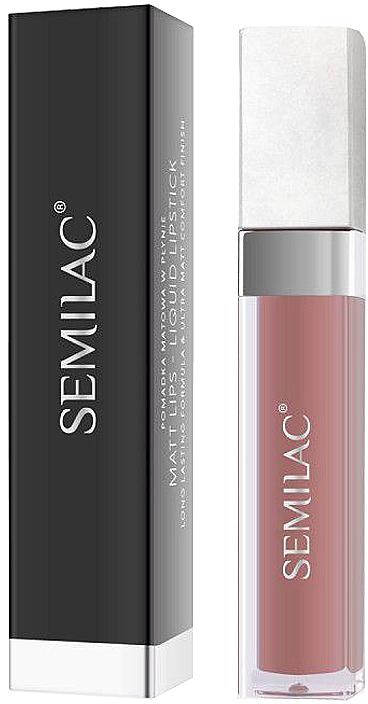 Ruj lichid mat - Semilac Liquid Matte Lipstick