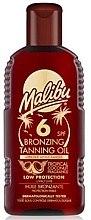 Parfumuri și produse cosmetice Ulei de corp cu efect bronzant - Malibu Bronzing Tanning Oil SPF 6