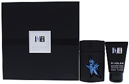 Parfumuri și produse cosmetice Thierry Mugler A*men - Apă de toaletă (edt/50+sh/gel 50 ml)