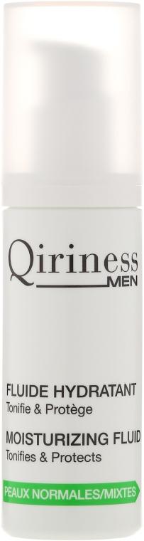 Fluid hidratant pentru față - Qiriness Men Moisturizing Fluid — Imagine N2