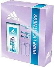 Parfumuri și produse cosmetice Adidas Pure Lightness - Set (deo/75ml+spray/150ml)