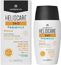 Parfumuri și produse cosmetice Cremă-gel minerală de protecție solară pentru copii SPF 50+ - Cantabria Labs Heliocare 360? Pediatrics Mineral SPF 50+