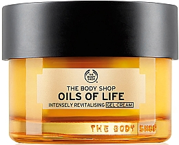 Духи, Парфюмерия, косметика Cremă-gel regenerant - The Body Shop Oils Of Life Intensely Revitalising Gel Cream
