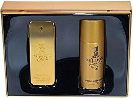 Parfumuri și produse cosmetice Paco Rabanne 1 Million - Set (edt 100 + deo 150)