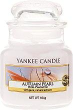 """Parfumuri și produse cosmetice Lumânare parfumată în borcan de sticlă """"Perlă de toamnă"""" - Yankee Candle Autumn Pearl"""