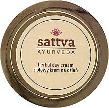 Parfumuri și produse cosmetice Cremă de zi cu plante medicinale - Sattva Ayurveda Herbal Day Cream