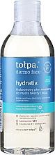 Parfumuri și produse cosmetice Loțiune micelară pentru curățarea pielii feței - Tolpa Dermo Face Hydrativ Face And Eye Micellar Fluid