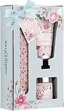 Parfumuri și produse cosmetice Set pentru îngrijirea mâinilor - Baylis & Harding Royal Garden (h/cr/50ml + salt/70g + nail/file/1)