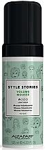 Parfumuri și produse cosmetice Spumă pentru volumul părului, fixare ușoară  - Alfaparf Milano Style Stories Volume Mousse