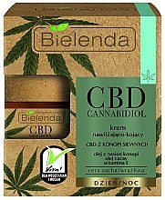 Parfumuri și produse cosmetice Cremă hidratantă și calmantă pentru față - Bielenda CBD Cannabidiol Cream