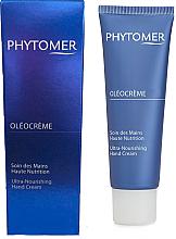 Parfumuri și produse cosmetice Cremă regeneratoare de mâini cu ulei Mekabu - Phytomer Oleocreme Ultra-Nourishing Hand Cream