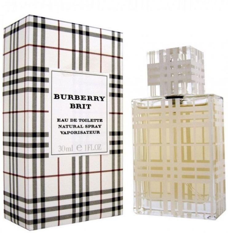 Burberry Brit for women - Apă de toaletă (mini) — Imagine N1