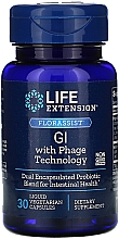 Parfumuri și produse cosmetice Supliment alimentar pentru tractul gastro-intestinal cu tehnologie fagică, 30 capsule lichide vegetale - Life Extension FLORASSIST GI with Phage Technology