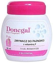 Parfumuri și produse cosmetice Soluție pentru îndepărtarea lacului de pe unghii, cu burete - Donegal Nail Remover