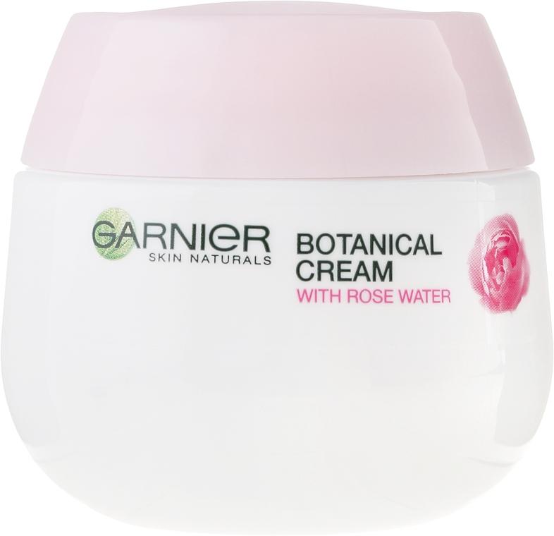 Hidratant de zi pentru piele uscată și sensibilă - Granier Skin Naturals Soft Essentials Hydrating Care 24h Day Face Cream — Imagine N2